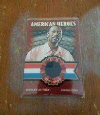 2009 Topps American Heritage American Heroes Wesley Autrey Shirt Subway Hero
