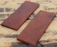 NEW SET AMBER BONE CUSTOM KNIFE BLADE MAKING HANDLE HANDLES SCALES SUPPLIES
