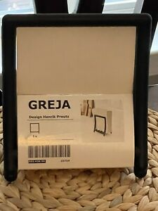 IKEA GREJA Napkin holder, black, 503.428.50 BRAND NEW
