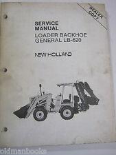 FORD LB-620 LOADER BACKHOE GENERAL SERVICE MANUAL DEALER COPY FACTORY ORIGINAL