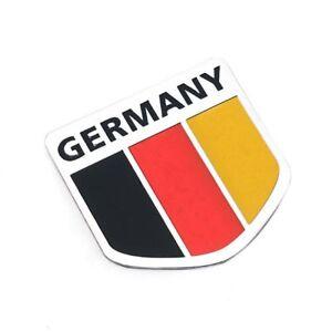 Car Decoration Aluminum alloy Emblem Badge of Germany Flag  3D Logo sticker NEW