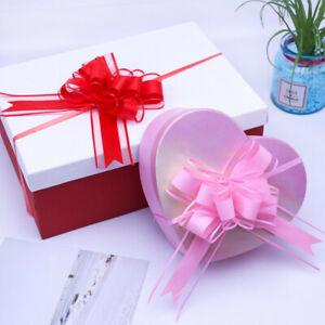 20PCS Florist Organza Pull Bows Ribbon Wedding Car Decor Gift Packing