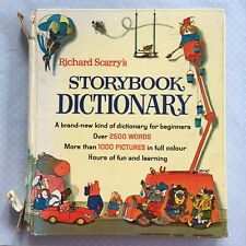 Richard Scarry's Storybook Dictionary - 1st Edition 2nd Impression 1968