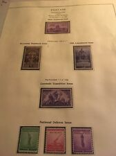 USA Collection Of USA. 1940 Issue  On Page
