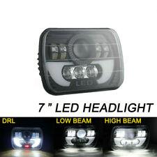 7x6 5X7 120W LED Phare Halo DRL  Pour 86-95 Jeep Wrangler YJ 84-01 Cherokee XJ