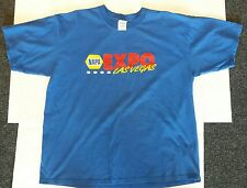 NAPA AUTO PARTS 2005 EXPO LAS VEGAS T-Shirt XL; blue