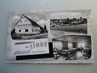 Ansichtskarte Peterzell Schwarzwald Gasthof Pension Zur Linde Alpirsbach 1960