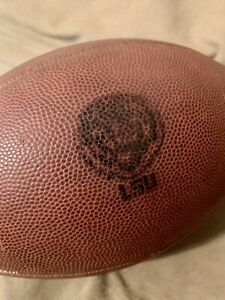 LSU TIGERS GAME USED Authentic Nike 3005 Football - SEC Louisiana State