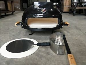 """NEW 21"""" CERAMIC TABLETOP PIZZA OVEN BBQ ROAST - PACKAGE DEAL !"""