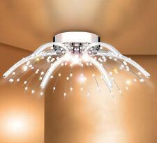LED Kristall Deckenleuchte Design Kronleuchter Wohnzimmer Leuchte Deckenlampe