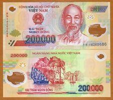 Vietnam, 200,000 dong, 2011, Pick 123 (123e), Polymer, UNC