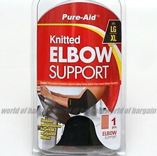 Sports LARGE/XL ELBOW SUPPORT Arm Strap Band Stretch Wrap Athletic Pad Brace S24