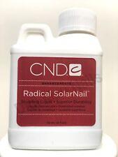 CND Radical SolarNail Sculpting Liquid - Superior Durability 4 oz