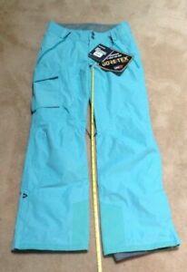 Dakine Women's Remington Pure 2L Gore-Tex Pant, Medium Ski Snowboard Retail $260