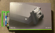 Microsoft Xbox One X 1TB Console - Black Bundle With 6 Games