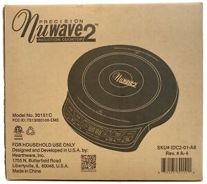 NuWave 2 Precision Induction Portable Cooktop Model 30151C Brand New In Box