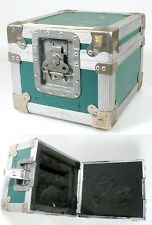Calzone Equipment Case, Green, Vintage Lock, 10 Wide X 8 Tall X 11 Deep