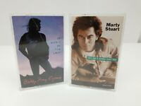 Country Music Cassette Tapes Lot of 2 Marty Stuart This One's & Bill Ray Cyrus