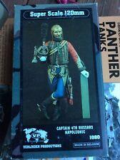 Verlinden 120mm (1/16) Captain from 4th Hussar Regiment (Napoleonic era) 1080