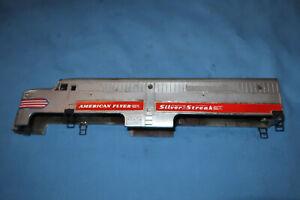 American Flyer #405 Silver Streak Alco PA Diesel Locomotive Shell- Repainted