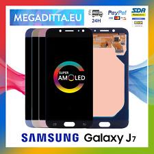Display OLED + Touch Screen Samsung Galaxy J7 2017 J730 SM-J730F Schermo Vetro