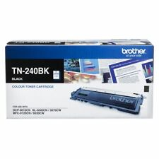 Brother Genuine TN-240BK BLACK Toner DCP9010CN HL3070CW 3040C MFC9120 2.2K Pages