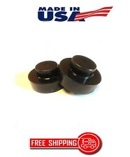 """MONTE CARLO 1977-1988 REAR LIFT KIT 1"""" BLACK DELRIN COIL SPRING SPACERS 2WD"""