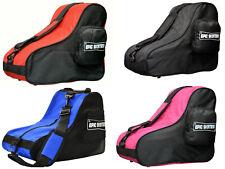 New! EPIC Premium Quad Speed Roller Skate Bags - Black, Blue, Pink or Red!