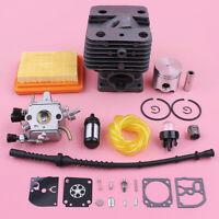 35mm Cylinder Piston Carburetor Repair Rebuild Kit For Stihl FS120 FS200 FS250
