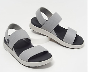 Keen Elle Backstrap Drizzle Gray Strappy Sandal Women's US sizes 5-11 NEW!!!