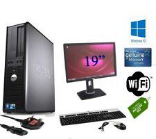 DELL/HP CORE 2 Duo DESKTOP SFF PC & TFT COMPUTER SYSTEM WINDOWS 10 & 2GB, 160GB