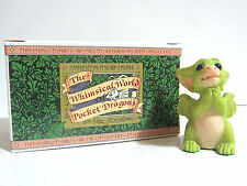 """Real Musgrave """"Pretty Please"""" Pocket Dragon Issued 1997 Retired 2001 Signed"""