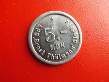 *Jeton/Token 5 MDN /LPG Ernst Thölmann Dieskau *ca.36mm/Alu (BOX 2)