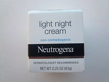 Neutrogena Light Night Cream, 2.25 Ounce Dermatologist Recomended New In The Box