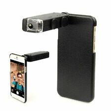 NEW 60X-100X Zoom Phone Microscope Lens LED Magnifier Camera For iPhone 6 7 Plus