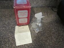 Goebel 1979 Mother'S Day Crystal Glass Bell Germany First Edition 1979