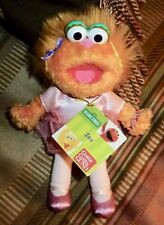 "Gund Sesame Street ZOE Ballerina, Dancer 2006 8"" Plush Toy"