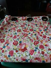Pottery Barn Shower Curtain Floral Print #1