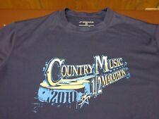 Brooks Equilibrium Technolgoy Shirt S/S Country Music 1/2 Marathon 2010 Large Y8