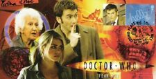 """Doctor Who Collectable Stamp Cover """"Fear Her"""" - Signed the late EDNA DORE"""