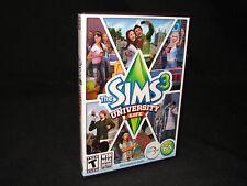 Sims 3: University Life (Windows/Mac, PC) Key Card Included, Ships FREE!