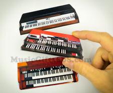 Hammond B3 organ, Vox Continental, Fender Rhodes classic keyboard 2D MAGNET SET
