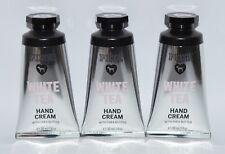 3 VICTORIA'S SECRET PINK WHITE TEA HAND CREAM LOTION TRAVEL SIZE SHEA BUTTER 1OZ