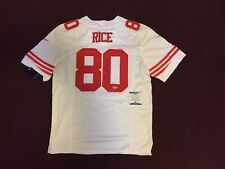 Jerry Rice SAN FRANCISCO 49ERS  AUTOGRAPHED SIGNED Nike JERSEY BECKETT