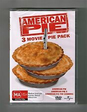 American Pie / American Pie 2 / American Pie The Wedding Dvds Brand New & Sealed