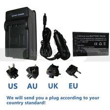 Battery +charger for AIPTEK V5V DZO-Z33 DZO-V37 HD-1080P NP-60 Fuji