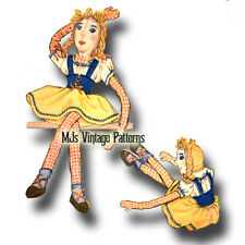 Vintage Cloth Doll Pattern ~ Dolly Dingle Doll