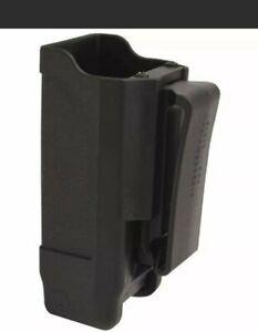 BLACKHAWK Double Stack Single Case (Matte Finish for 9mm/.40 cal), Blk