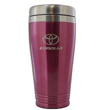Toyota Corolla Pink Stainless Travel Mug