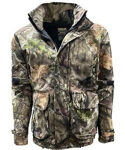 Stormkloth Mens Mossy Oak Delux Waterproof Camouflage Jacket Hunting Shooting
